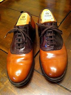 Alden / Saddle oxford Cordovan