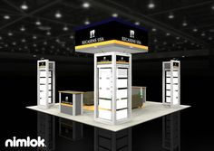 Nimlok builds and designs modular trade show booths and textile exhibits. For Recasens, we built a 20x20' trade show booth to showcase their products.