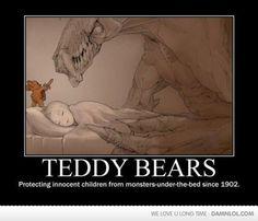Teddy Bears Rule! I want this as a Tattoo!