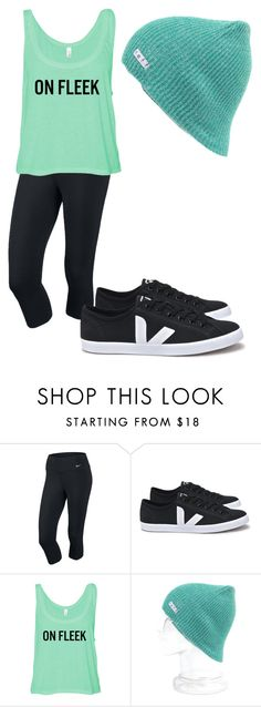 """Untitled #257"" by flashinglights-397 on Polyvore featuring NIKE and Neff"