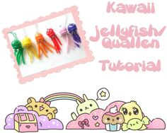 Kawaii jellyfish tutorial