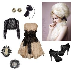 <3lace, created by sarahflo87 on Polyvore