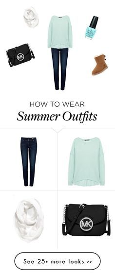 """""""Cozy fall/winter outfit"""" by abigail-lyn-russell on Polyvore"""
