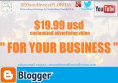 $19.99usd / Video Services - SEOsouthwestFLORIDA