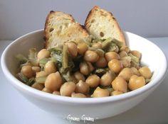 Zuppa con ceci e lattuga   Ricetta