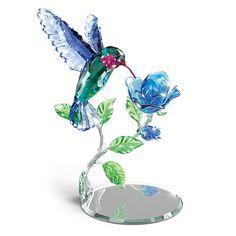 Nature's Delicate Dance Crystal Sculpture