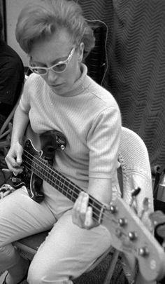 A woman that too many people don't know about! Carol Kaye played bass for every Beach Boys song and created some of the most iconic bass lines in pop music history.