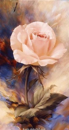 Watercolor Ideas - Watercolors are reportedly the art medium. Sure, painting with watercolors is demanding and takes a great deal of practice, but is not that with art media? With good will, you can learn this art medium that is gorgeous. Art Floral, Watercolor Flowers, Watercolor Paintings, Rose Paintings, Watercolor Ideas, Roses Painting Acrylic, Images D'art, Rose Art, Beautiful Roses