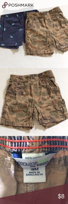 Shorts 2 pair shorts -18 m Bottoms Shorts