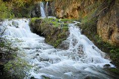 Black Hills, SD -- Spearfish, SD --- Roughlock Falls -