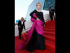 Cannes 2015 Jane Fonda (Quelle: EPA/IAN LANGSDON)