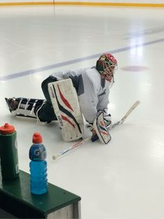 Check out Bryzgalov's #mnwild mask.