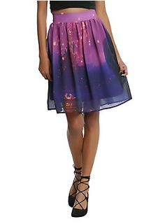 This is what you're meant to wear // Disney Tangled Lights Chiffon Skirt