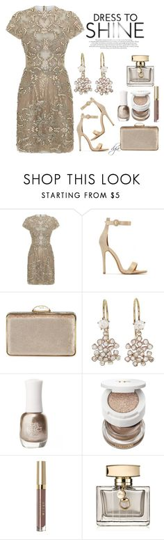 """""""Dreamy Dress"""" by dgia ❤ liked on Polyvore featuring Patricia Bonaldi, Judith Leiber, Kataoka, Charlotte Russe, Tom Ford, Stila and Gucci"""