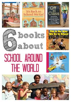 Teach your kids about schools around the world through books. Click for a list.