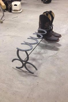 Horseshoes!