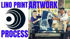 Lino Block Printing - Graphic Art Method and Process - Inspiring Alien f...