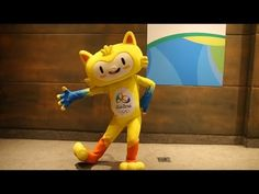 Dance with the Olympic Mascot! Rio 2016™ Vinicius Mascot in Dance Challenge / Mascote Vinicius No Desafio da Dança [HD] - YouTube