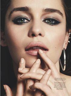 마리끌레르 UK 6월호 Emilia Clarke