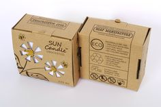 Sun Candle on Packaging of the World - Creative Package Design Gallery
