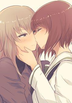 Anime lesbiske piger har sex