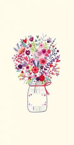 Flowers Wallpaper Desktop Pattern Dresses Ideas For 2019 Frühling Wallpaper, Spring Wallpaper, Flower Phone Wallpaper, Wallpaper Backgrounds, Iphone Hintegründe, Pink Iphone, Iphone Tela, Jolie Photo, Pink Art