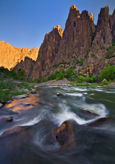 Black Canyon of the Gunnison, National Park, Colorado; photo by Michael Greene