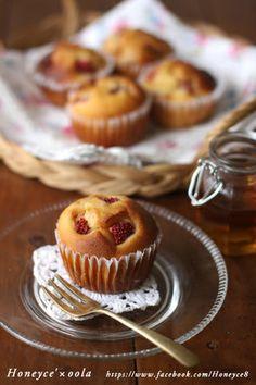 【Honeyce'レシピ】フレッシュ苺のはちみつマフィン|レシピブログ