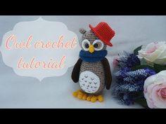 OWL CROCHET TUTORIAL - YouTube
