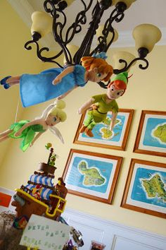 Tinkerbell, Peter Pan, Pirate, Jake and the Neverland Pirates Birthday Party Ideas