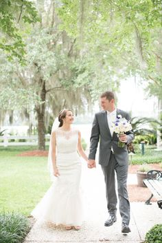 Oldfield Plantation Wedding Lyndi J. Photography. Stella York wedding dress