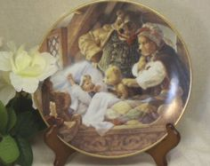 """Vintage Knowles 1991 Collectors Plate,""""Goldilocks and Three Bears"""",Classic Fairy Tales Plate Collection,Scott Gustafson,VB7124 by ckdesignsforyou. Explore more products on http://ckdesignsforyou.etsy.com"""