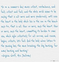 Virginia Woolf, Mrs. Dalloway