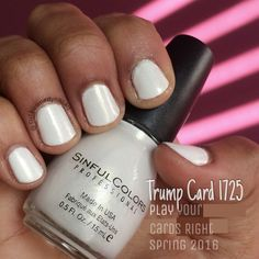 SinfulColors Trump Card 1725