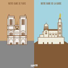 Top 30 des illustrations « Paris vs Marseille », le grand clash en images