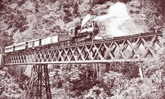 Costa Rica's trans-country railroad was completed in 1910