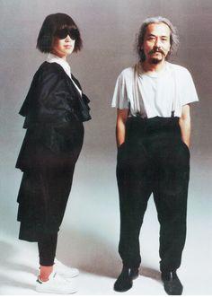 Рей Кавакубо и Йоджи Ямамото