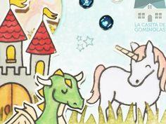 Tarjeta mitológica (Intercambio) || La Casita de Gominolas