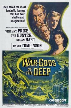 War-Gods of the Deep (1965) Vincent Price, Tab Hunter, Susan Hart