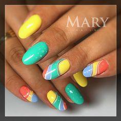#nail #nails #nails #nailsart #nailart #nailswag #nailstagram #gellac #géllakk #kodi #nyáriköröm #маникюр #летнийманикюр #гельлак
