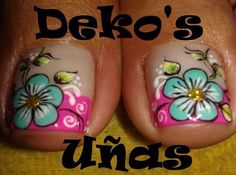 Pies Cute Pedicures, Pedicure Nails, Mani Pedi, Diy Nails, Cute Pedicure Designs, Toe Nail Designs, Summer Toe Designs, French Pedicure, Feet Nails