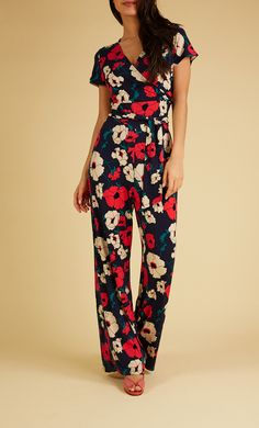 King Louie - Farah Jumpsuit Shirley Poppy