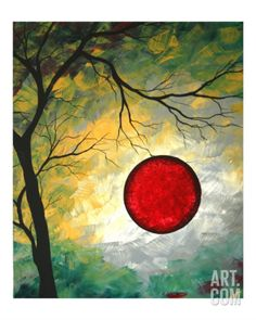 Roses Are Red Giclee Print by Megan Aroon Duncanson at Art.com