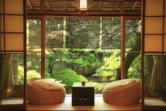 Decoration Ideas, Awesome Zen Style Design Ideas With Gardens View: Fascinating Simple Minimalist Home Interior Design With Zen Style Living Room Styles, Living Room Designs, Bedroom Designs, Jardim Zen Interior, Japanese Living Room Decor, Japanese Home Decor, Design Japonais, Style Japonais, Japanese Interior Design