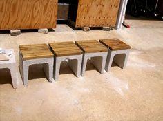 diy - gartenbank mit beton und holz | garten, selber machen und deko, Garten und erstellen