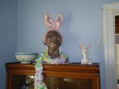Gandhi's Easter Bonnet