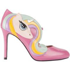 MINNA PARIKKA CELESTIA BERRY-PASTEL ($410) ❤ liked on Polyvore featuring shoes, sandals, minna parikka shoes, hidden platform shoes, berry shoes, minna parikka and high heel shoes