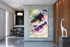 Items similar to Large Abstract Painting,bright painting art,extra large abstract,large abstract art,textured paintings on Etsy Texture Painting, Painting Art, Knife Painting, Bright Paintings, Knife Art, Large Canvas Art, Extra Large Wall Art, Abstract Wall Art, Original Paintings