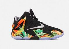 The Nike Lebron 11 Grade-School (Black, Everglade) will you keep your shoe game crisp all day long. Lebron 11, Nike Lebron, Nike Tennis, Nike Soccer, Nike Leggings, Nike Hoodie, Air Max 2009, Nike Air Max 87, Nike Quotes