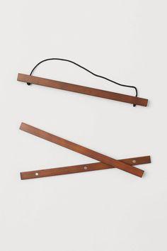 H&M - Wooden Frame Mount - Brown